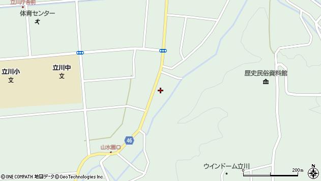 山形県東田川郡庄内町狩川阿古屋30周辺の地図