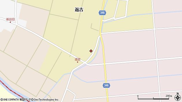 山形県東田川郡庄内町返吉屋敷田45周辺の地図