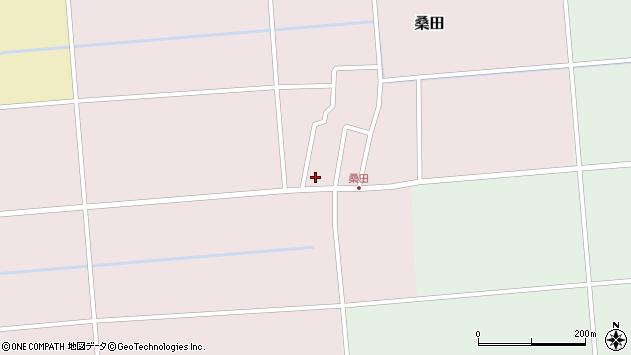 山形県東田川郡庄内町桑田高口52周辺の地図