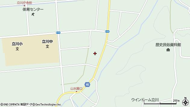 山形県東田川郡庄内町狩川阿古屋28周辺の地図