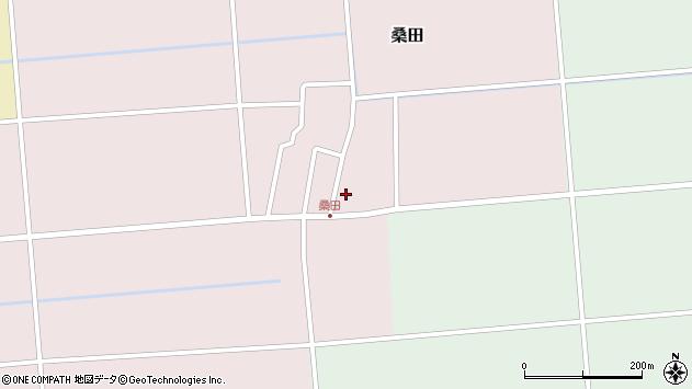 山形県東田川郡庄内町桑田高口48周辺の地図
