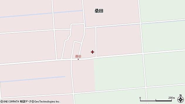 山形県東田川郡庄内町桑田高口15周辺の地図