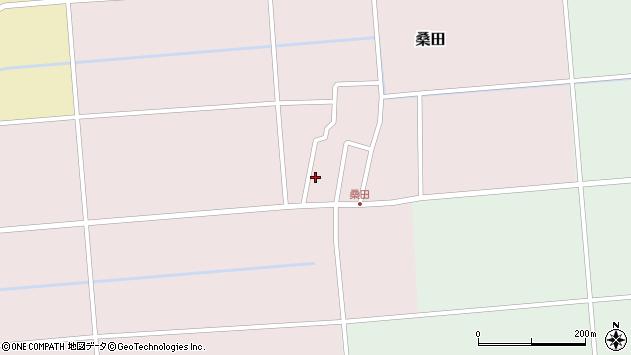 山形県東田川郡庄内町桑田高口38周辺の地図