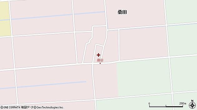 山形県東田川郡庄内町桑田高口41周辺の地図