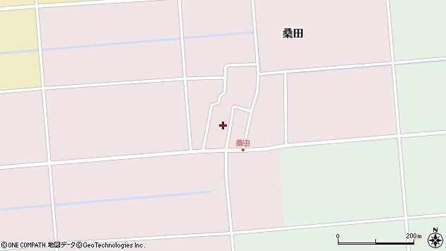 山形県東田川郡庄内町桑田高口36周辺の地図