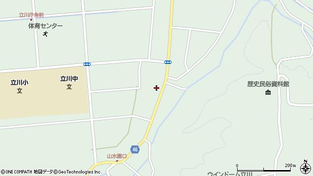 山形県東田川郡庄内町狩川阿古屋36周辺の地図