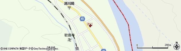 山形県東田川郡庄内町清川花崎78周辺の地図