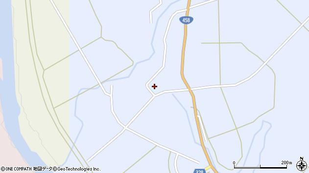山形県最上郡鮭川村川口990周辺の地図