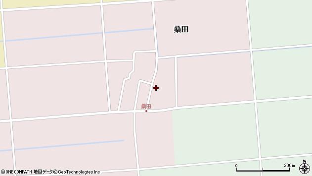 山形県東田川郡庄内町桑田高口45周辺の地図