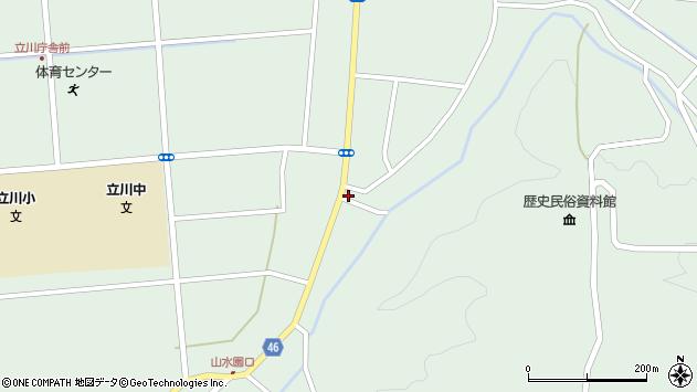 山形県東田川郡庄内町狩川阿古屋45周辺の地図