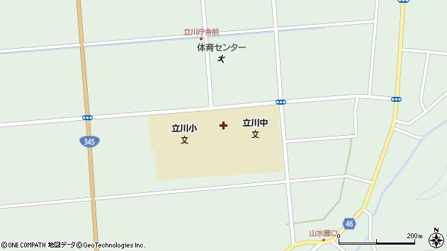 山形県東田川郡庄内町狩川松葉4周辺の地図