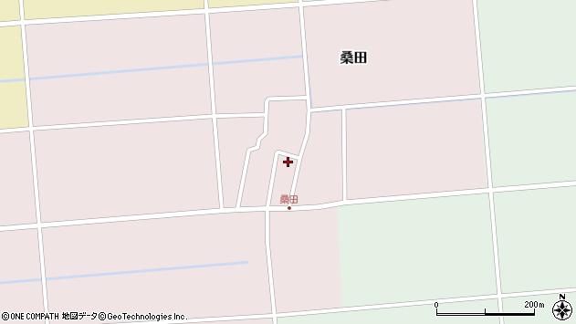 山形県東田川郡庄内町桑田高口44周辺の地図