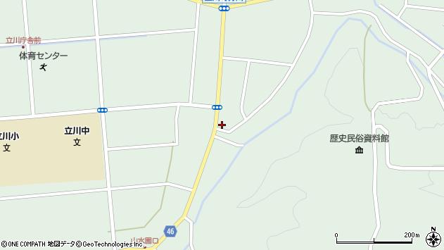 山形県東田川郡庄内町狩川阿古屋48周辺の地図