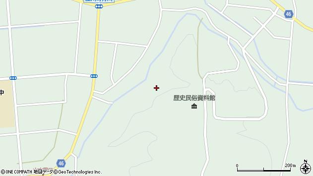 山形県東田川郡庄内町狩川阿古屋132周辺の地図
