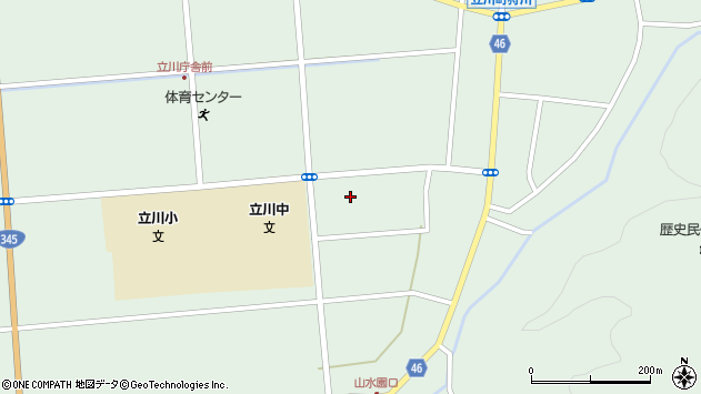 山形県東田川郡庄内町狩川古楯7周辺の地図