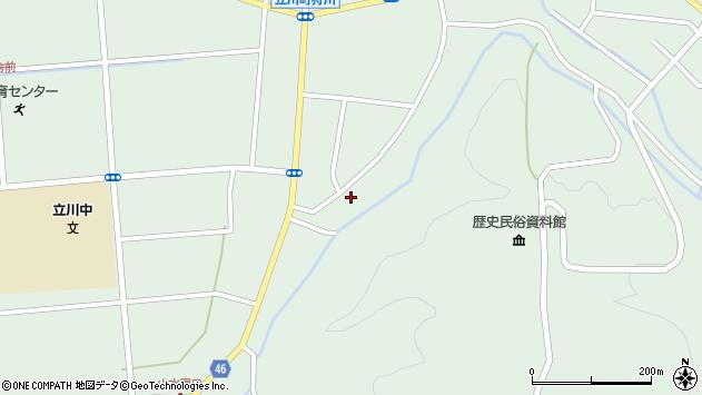山形県東田川郡庄内町狩川阿古屋127周辺の地図