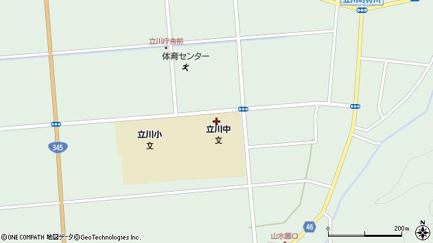 山形県東田川郡庄内町狩川松葉周辺の地図