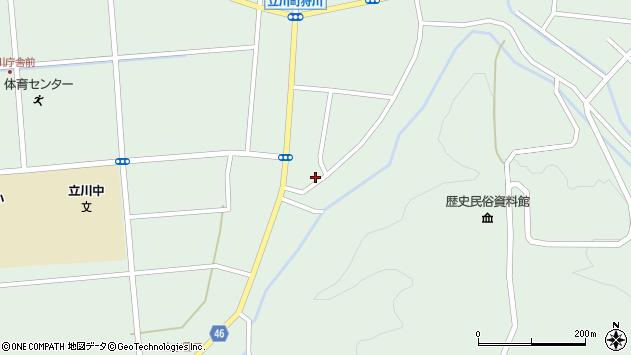 山形県東田川郡庄内町狩川阿古屋123周辺の地図
