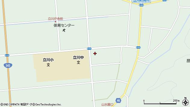 山形県東田川郡庄内町狩川古楯77周辺の地図