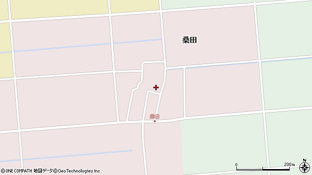 山形県東田川郡庄内町桑田高口28周辺の地図