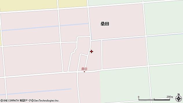 山形県東田川郡庄内町桑田高口21周辺の地図