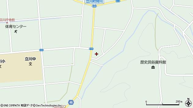 山形県東田川郡庄内町狩川阿古屋50周辺の地図