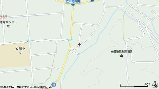 山形県東田川郡庄内町狩川阿古屋122周辺の地図