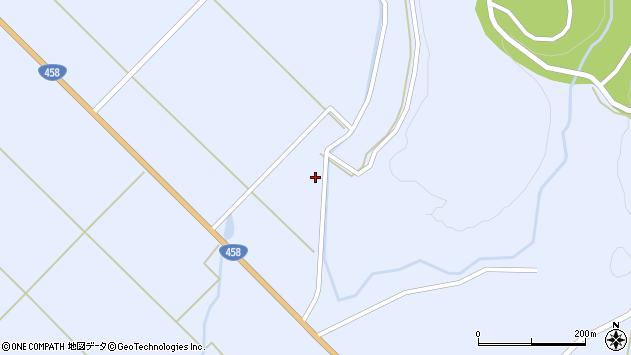 山形県最上郡鮭川村川口1527周辺の地図