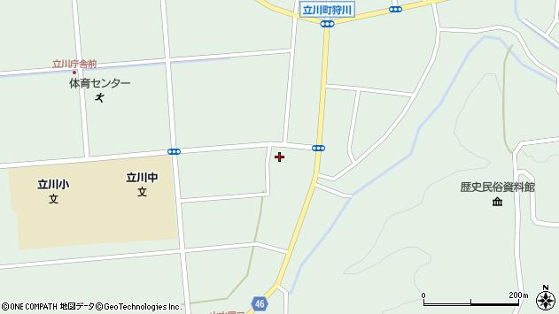 山形県東田川郡庄内町狩川阿古屋47周辺の地図