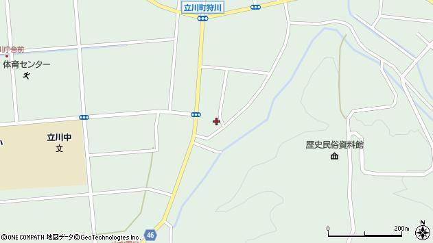 山形県東田川郡庄内町狩川阿古屋53周辺の地図