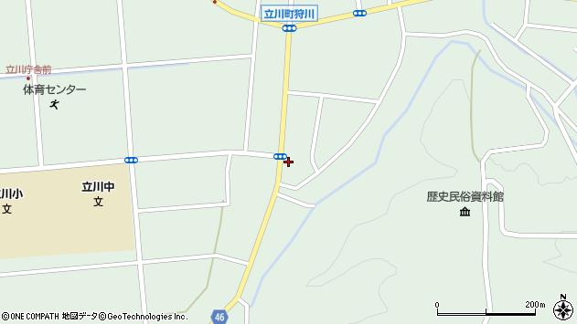 山形県東田川郡庄内町狩川阿古屋52周辺の地図