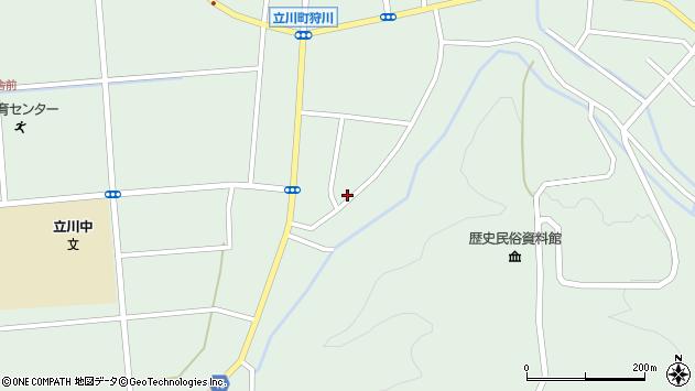 山形県東田川郡庄内町狩川阿古屋117周辺の地図