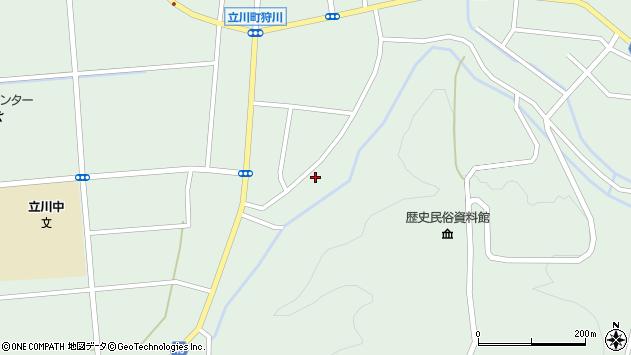 山形県東田川郡庄内町狩川阿古屋139周辺の地図