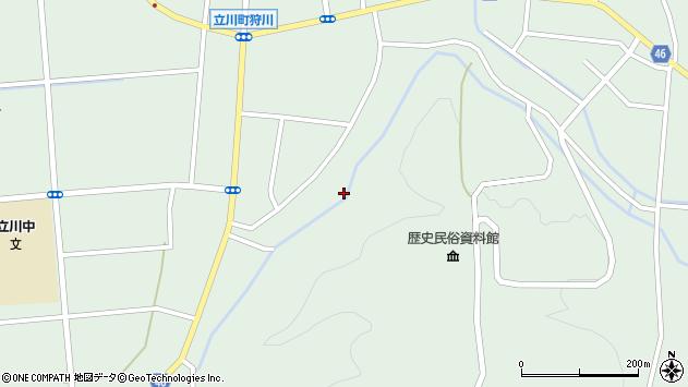 山形県東田川郡庄内町狩川阿古屋143周辺の地図