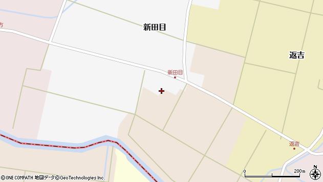 山形県東田川郡庄内町新田目堰内13周辺の地図