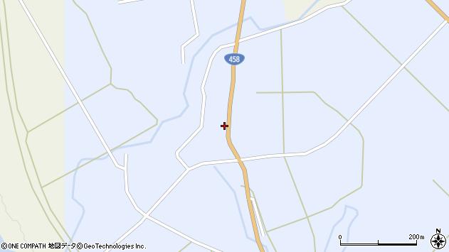 山形県最上郡鮭川村川口2839周辺の地図
