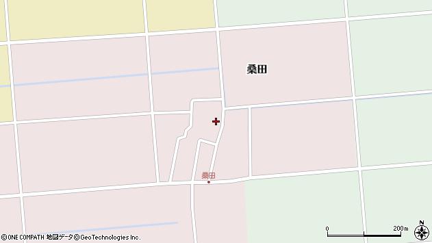 山形県東田川郡庄内町桑田高口24周辺の地図