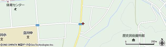 山形県東田川郡庄内町狩川阿古屋55周辺の地図