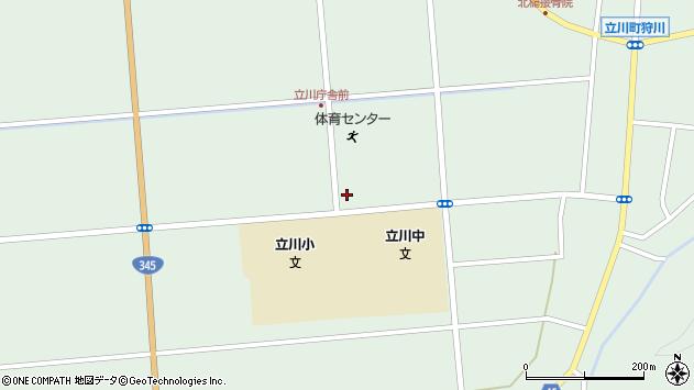 山形県東田川郡庄内町狩川大釜10周辺の地図