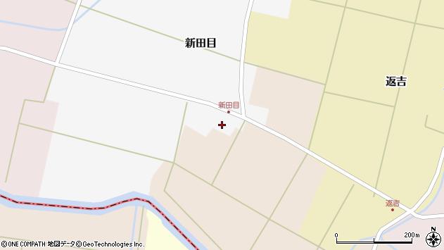 山形県東田川郡庄内町新田目堰内7周辺の地図