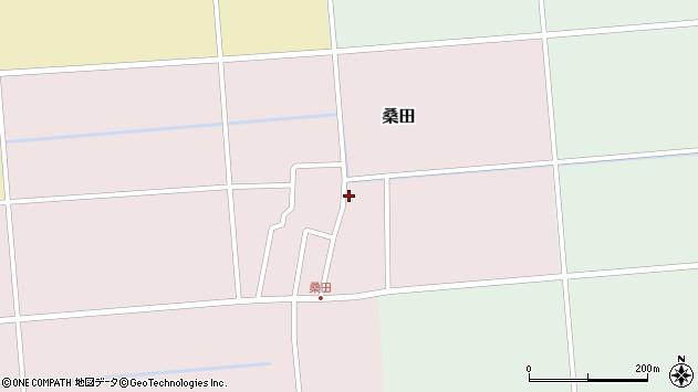 山形県東田川郡庄内町桑田高口17周辺の地図