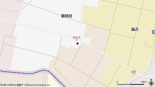 山形県東田川郡庄内町新田目堰内6周辺の地図