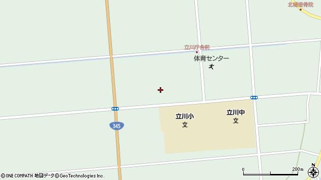 山形県東田川郡庄内町狩川大釜136周辺の地図