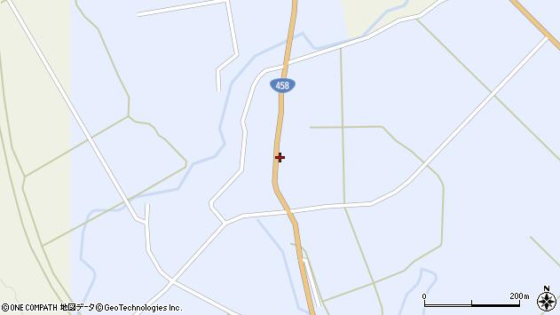 山形県最上郡鮭川村川口1302周辺の地図