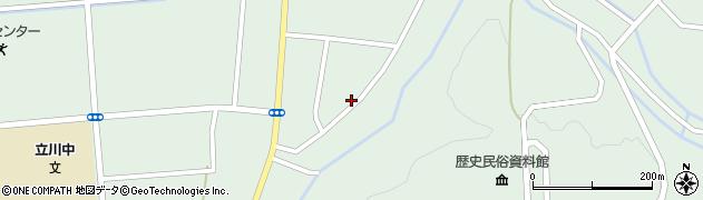 山形県東田川郡庄内町狩川阿古屋104周辺の地図