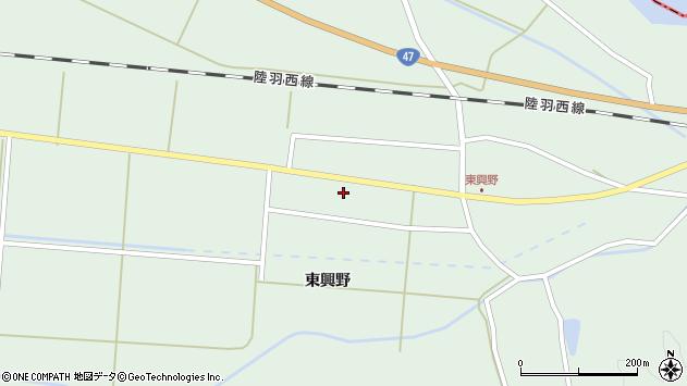 山形県東田川郡庄内町狩川東興野60周辺の地図