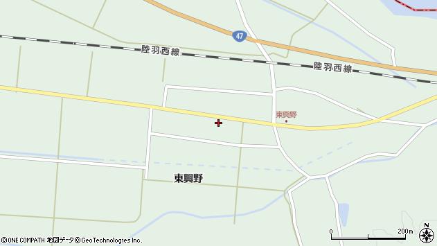 山形県東田川郡庄内町狩川東興野42周辺の地図