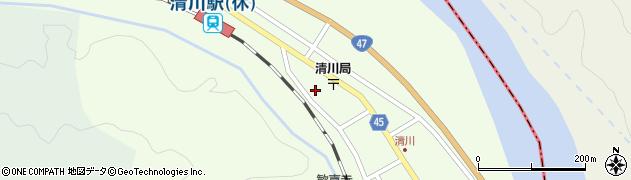 山形県東田川郡庄内町清川花崎209周辺の地図