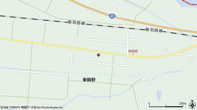 山形県東田川郡庄内町狩川東興野52周辺の地図