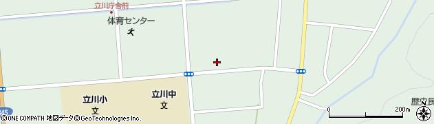 山形県東田川郡庄内町狩川大釜3周辺の地図
